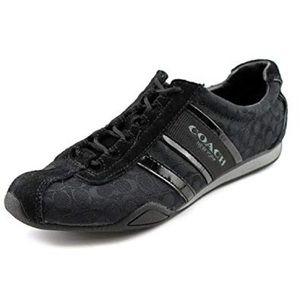 Coach black sneaker